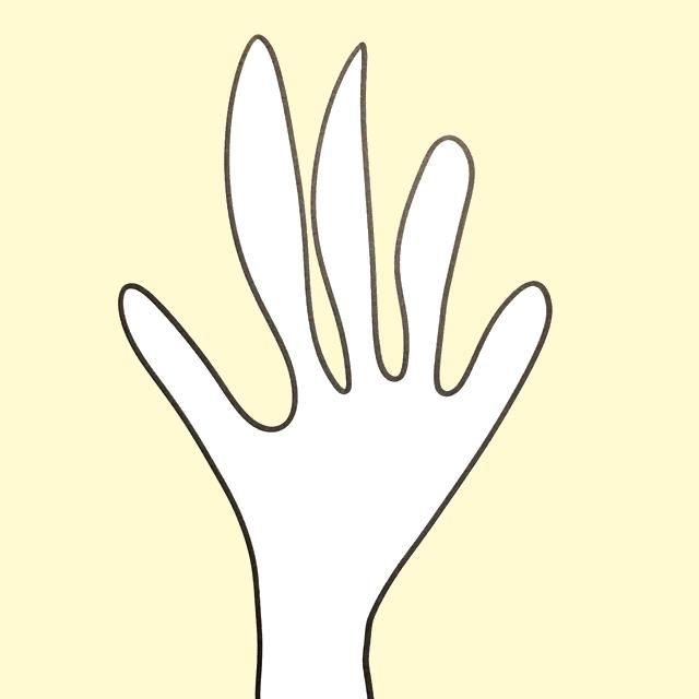 Blindtegning af hænder | HouseOfFengShui