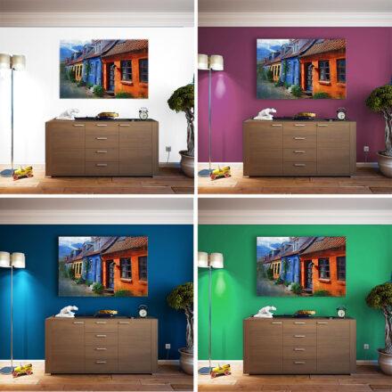 Tør du male en væg?